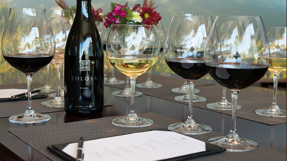 Tolosa Winery in SLO Coast Wine region