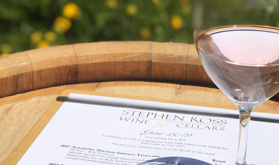 Stephen Ross Cellars in SLO Coast Wine country