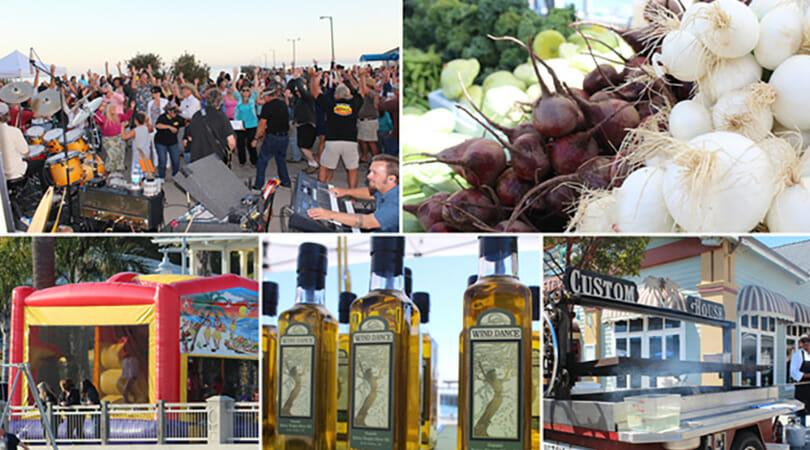 Peloton Cellars Avila Beach Farmers Market in SLO Coast Wine region