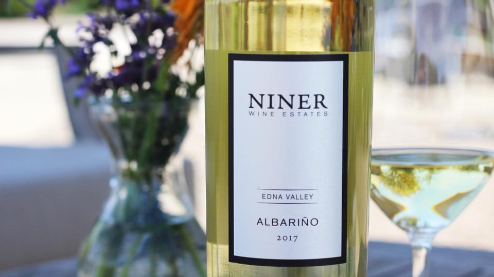 Niner Albarino in SLO Coast Wine Region