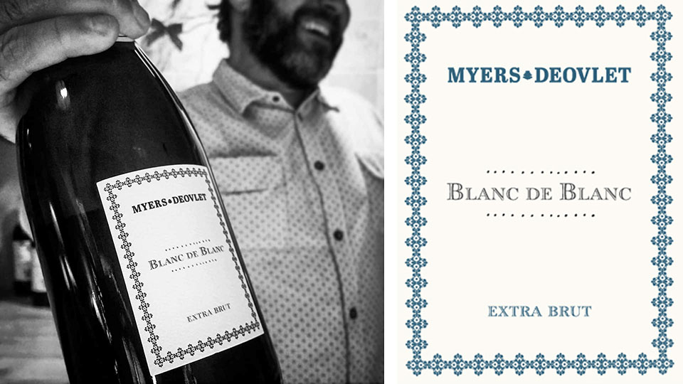 Myers-Deovlet Sparkling Wine in SLO Coast Wine
