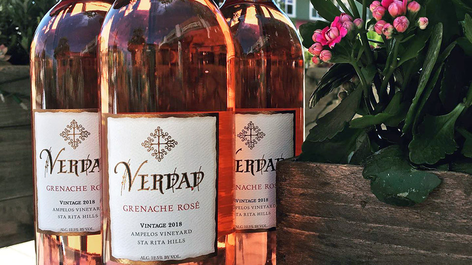 Verdad and Lindquist Family Wines Grenache Rosé