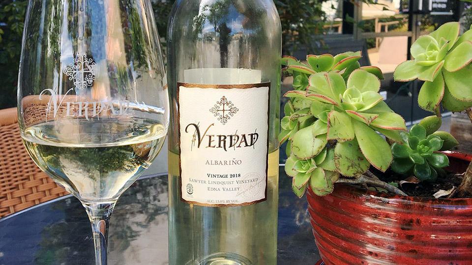 Verdad Wines Albarino in Arroyo Grande, San Luis Obispo coast