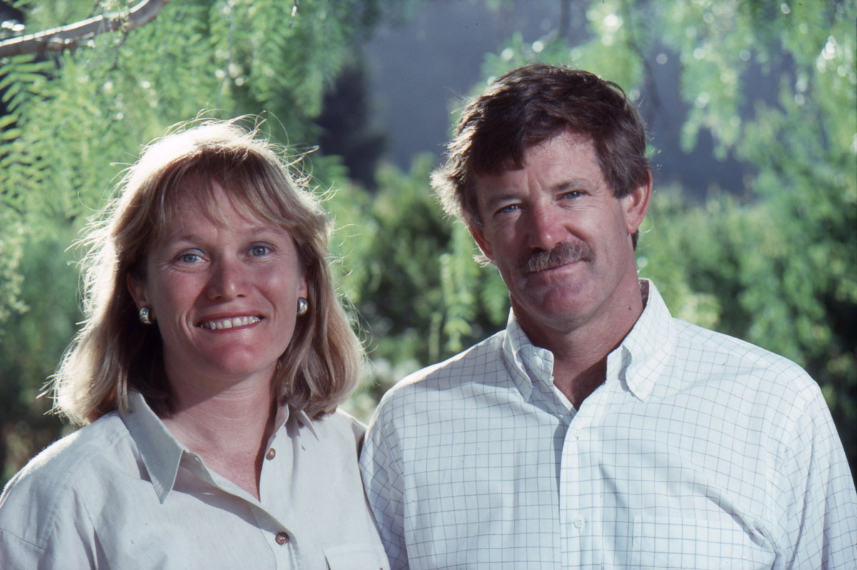 Bill & Nancy Greenough in 1984